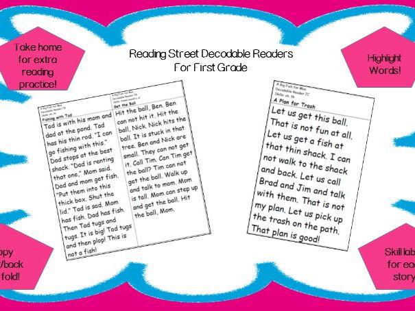 Decodable Reader - Big Blue Ox (Short o, Consonant x, plural s)