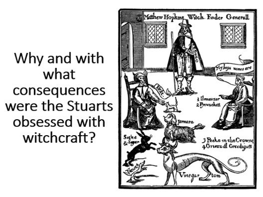 The Stuarts and Witchcraft