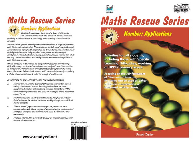 Maths Rescue 3 – Number: Applications (Irish E-book for Special Needs and Students at Risk)