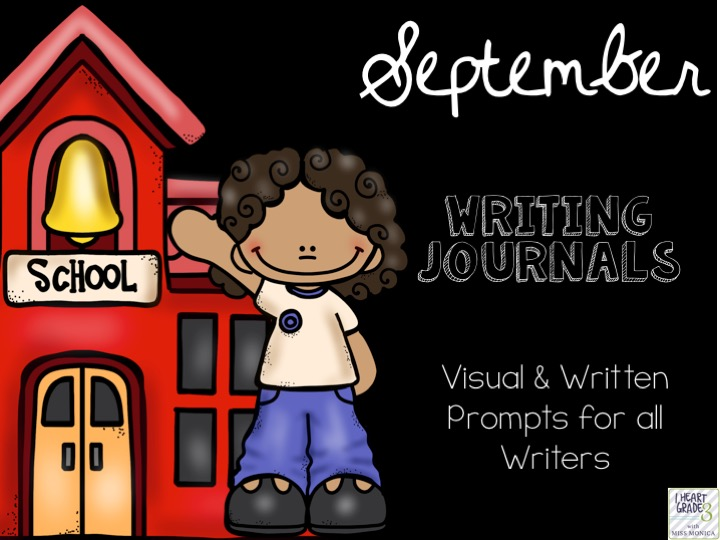 September Journals with Visual & Written Prompts