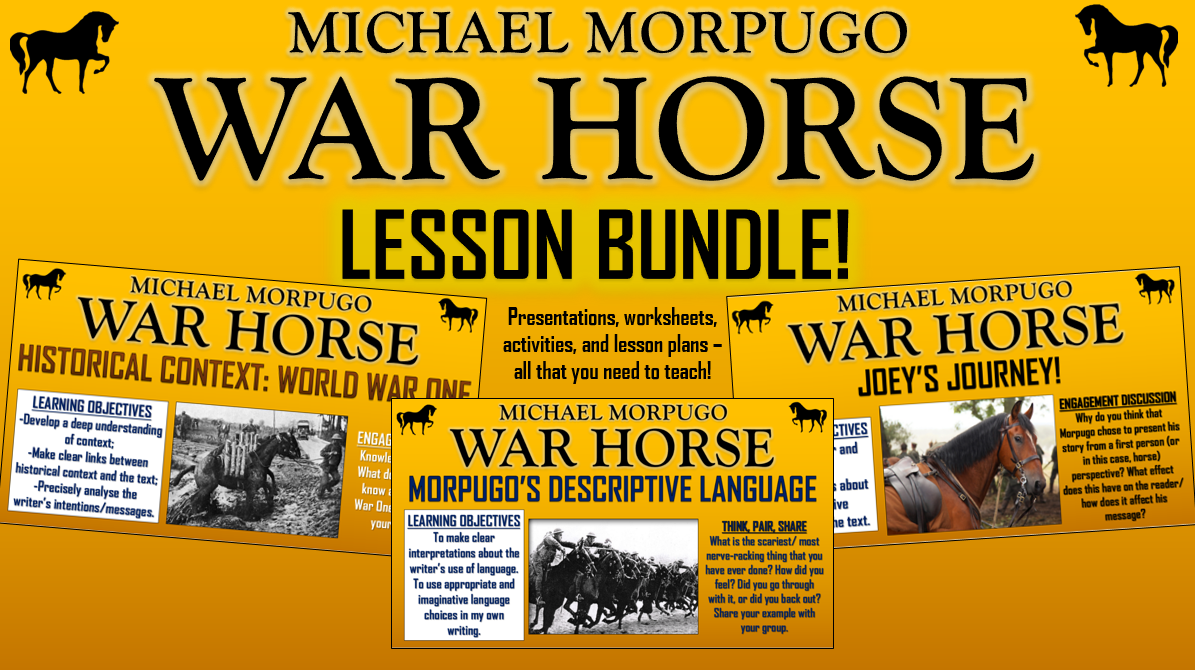War Horse Lesson Bundle!
