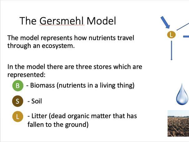 Gersmehl Model and Biomes