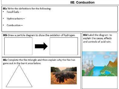 KS3 Student Revision Fill in Slides