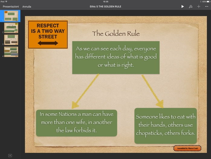 Ethics Citizenship: The Golden Rule Complete Lesson with Video