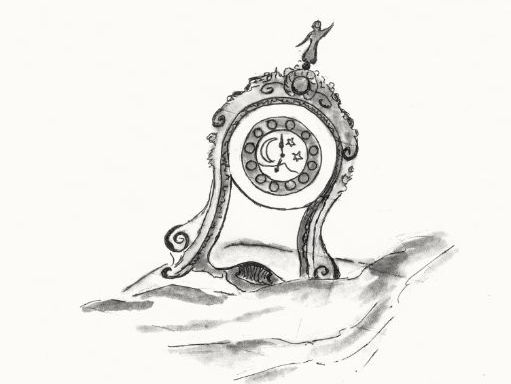 Explanation and description of Symbolic & Imaginations in  the 'Tale of the Little Porcelain Clock'