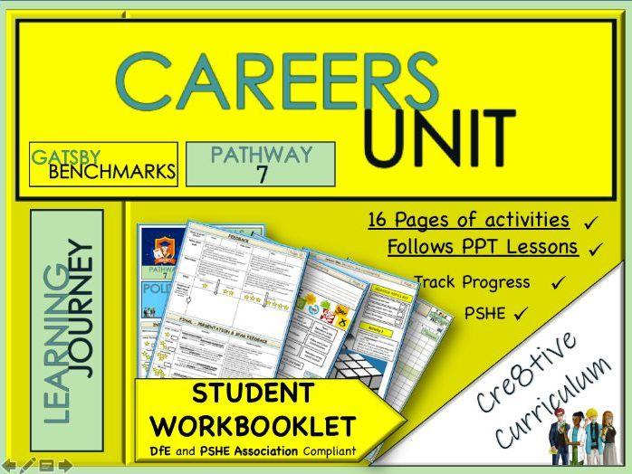 Careers Education KS3 Work Book