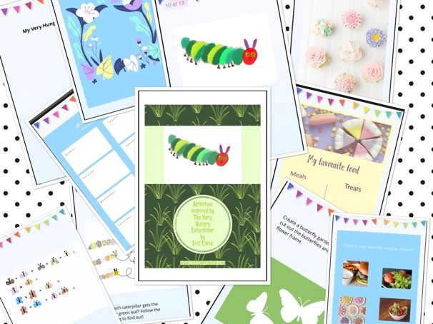 Activities Inspired by The Very  Hungry Caterpillar by Eric Carle