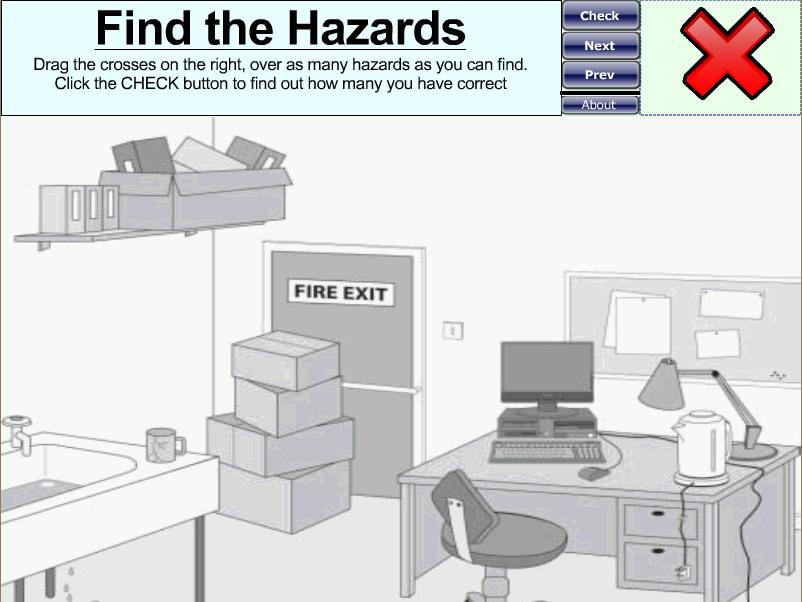 Identify the Hazard