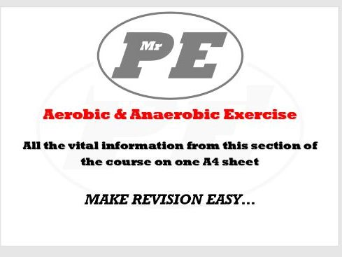 KEY INFO SHEET Aerobic & Anaerobic Exercise