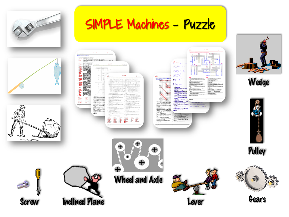 Simple MACHINES – PUZZLE