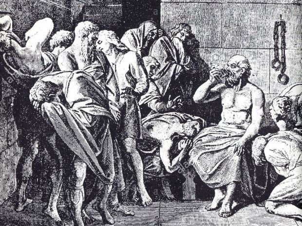 Ethics A/S and A level: Absolute Morality as a concept- Plato 'The Trial and Death of Socrates'.