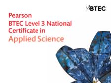 BTEC Applied Science; Unit 14, Topic 14A; Nomenclature