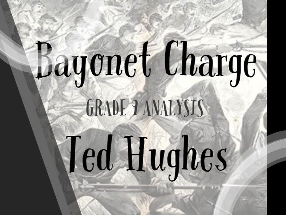 Bayonet Charge – Grade 9 quotation analysis & model answers