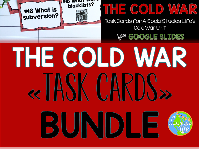 Cold War Task Cards BUNDLE