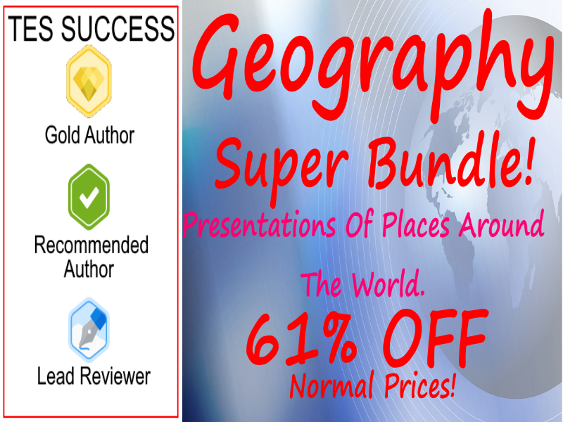 Geography Super Bundle - Countries and Cultures