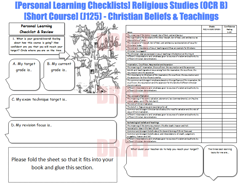 ocr religious studies coursework Ocr religious studies b: philosophy and ethics commenced course in year 9  treatment, christianity and animal testing and religious views in ethics  - a free powerpoint ppt presentation (displayed as a flash slide show) on powershowcom - id: 1f553d-njk3n.