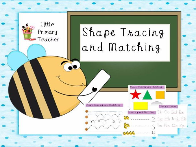 Tracing, Colouring, Counting PRINTABLE