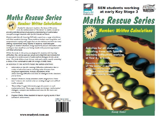 Maths Rescue 1 - Number: Written Calculations
