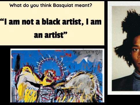Black Tudors vs. Black contemporary artists Art Lesson - KS2/KS3