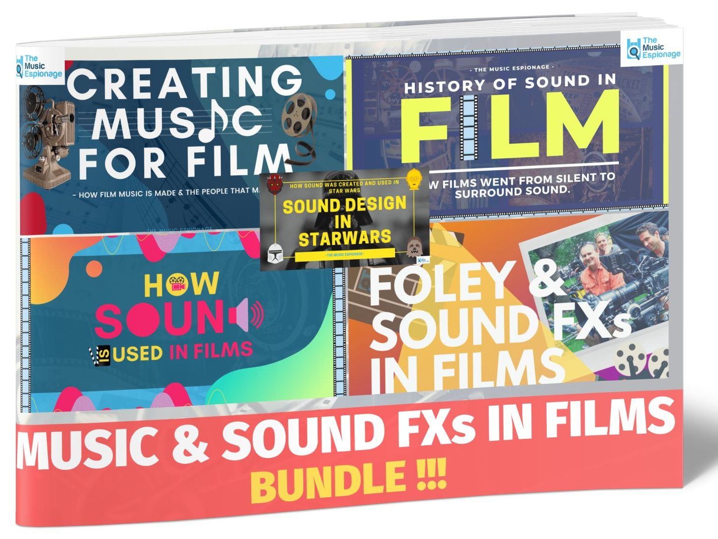 Music and Sound Design in Films - LESSON BUNDLE