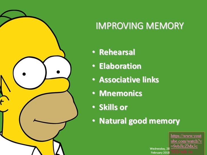 Memory for A level Psychology (AQA) PowerPoint slides for lessons