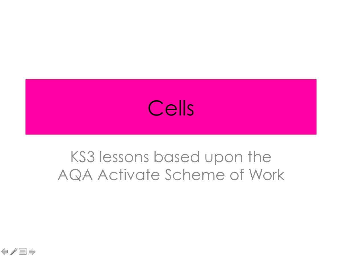 AQA Activate- Cells