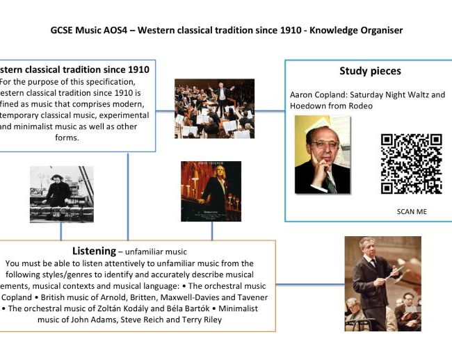 AQA GCSE Music Knowledge organiser AOS4