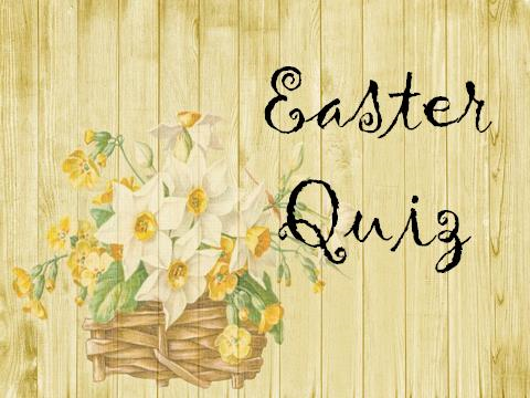 Easter Quiz – Presentation – could be used in assembly