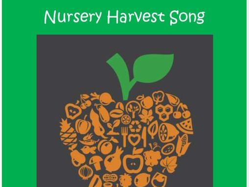 Nursery Harvest Song