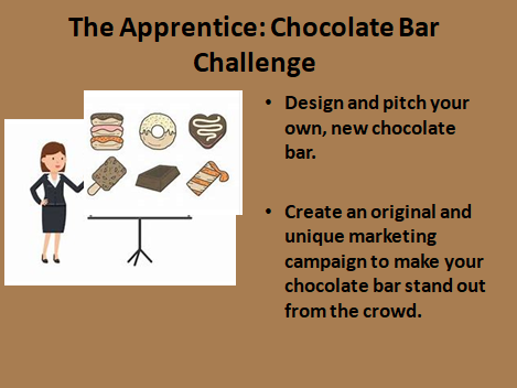 The Apprentice: Chocolate Bar Challenge