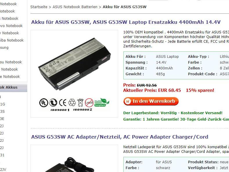 """Batterie pour Apple MacBook Air """"Core i7"""" 13"""""""