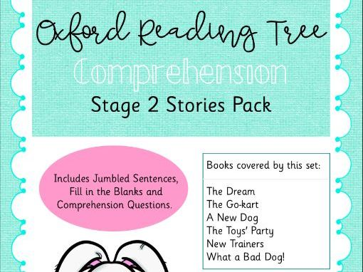 ORT - Oxford Reading Tree Stage 2 Stories Comprehension Pack
