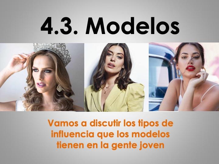 UPDATED AS/A Level Spanish La influencia de los ídolos: Modelos