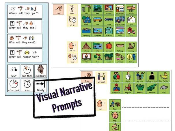 Visual Narrative Prompts