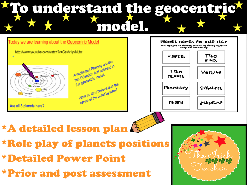 Space- The Geocentric Model