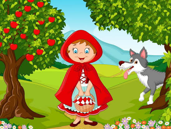 Little Red Riding Hood - Face Masks