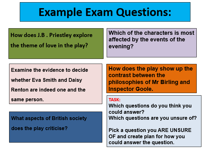 An Inspector Calls / J.B Priestley, full 20+ Lesson scheme for KS4 learners, AQA exam spec 2017.
