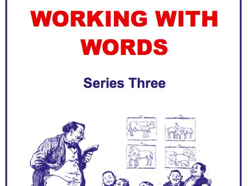 Working With Words Series Three Scheme of Work