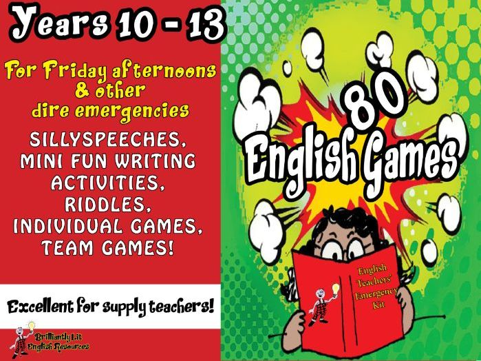 80 English Games Years 10-13