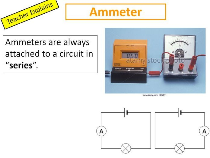 Electric current - Full Lesson