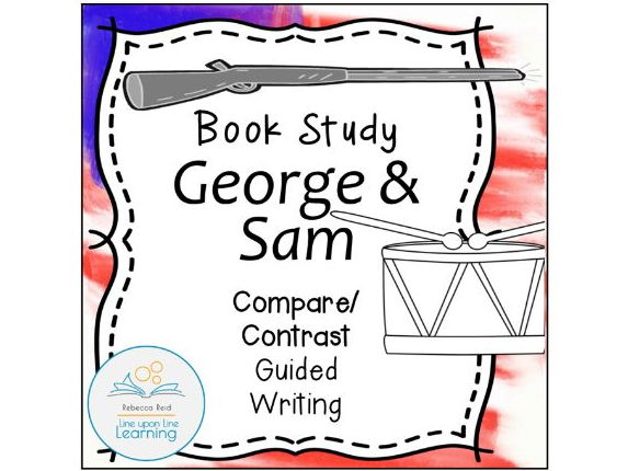 Book Study: Sam and George Compare/Contrast Guided Writing