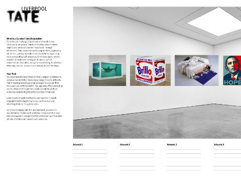 Exhibition Design - The Role of a Curator.