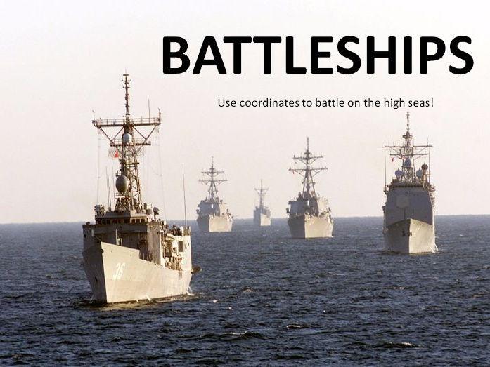 Battleships - Coordinates Game/Lesson