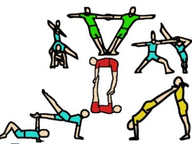 Sports acrobatics (paired balances) resources