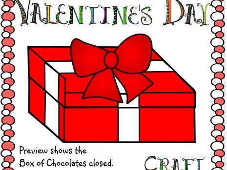 Valentine's Day Crafts Box of Chocolates