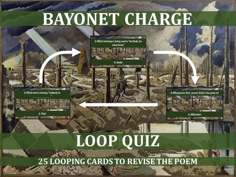Bayonet Charge Quiz