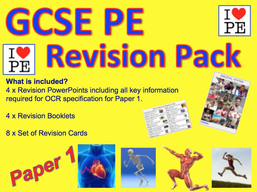 GCSE PE OCR Paper 1 Revision Pack