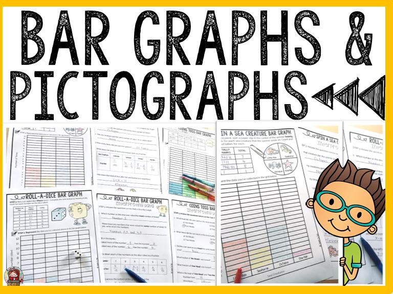 BAR GRAPHS AND PICTOGRAPHS: ACTIVITY SHEETS