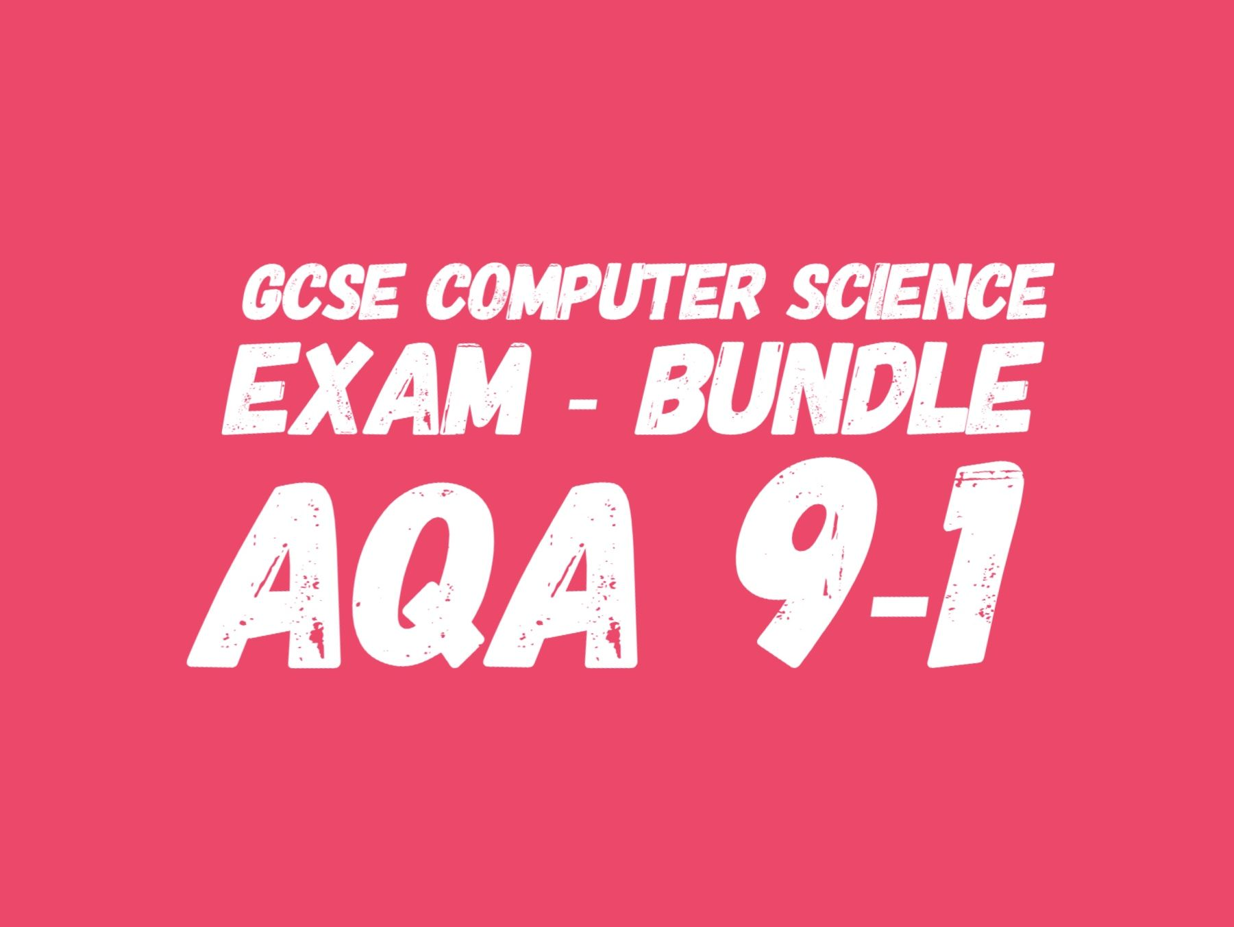 GCSE Mock Exam and Mini Test 2 - save 50%
