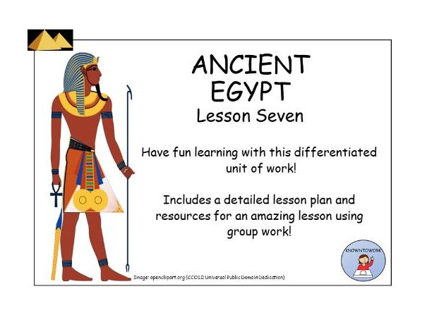 AncientEgypt:DailyLife-GroupWorkActivity